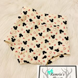 Mouse Heart Bummies