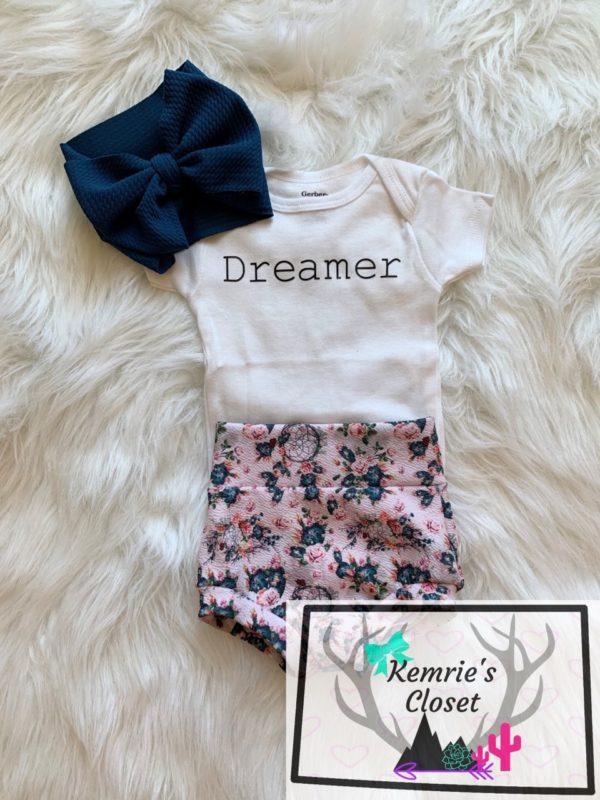 Dreamer Onesie Full Outfit