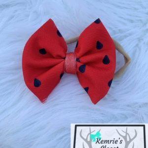 Watermelon Seeds Bow