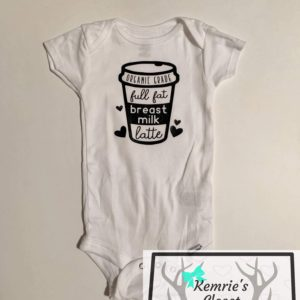 Breast Milk Latte Onesie