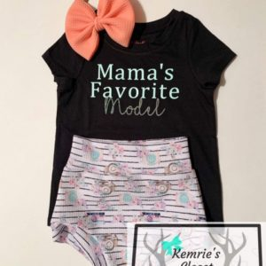 Mama's Favorite Model Outfit