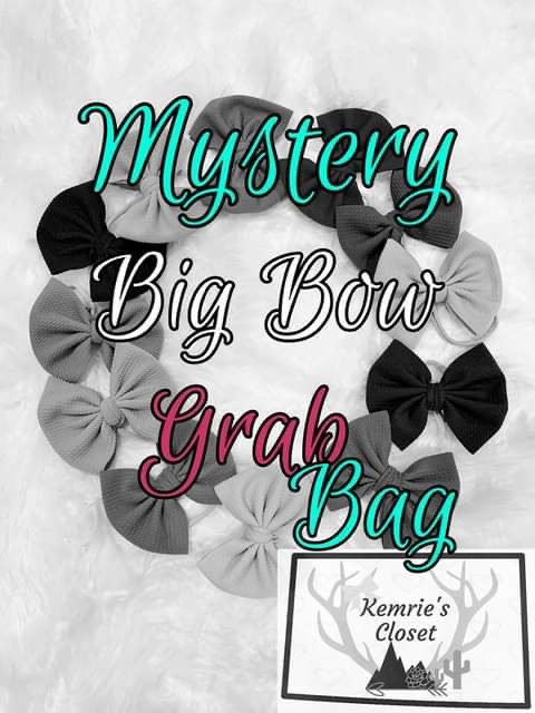 Mystery Big Bow Grab Bag